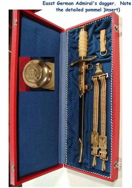 East German Admirals Naval Dagger#203