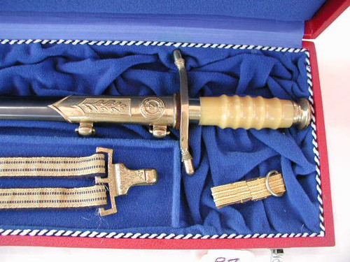 East German Officers Navy Admirals Dagger  #445