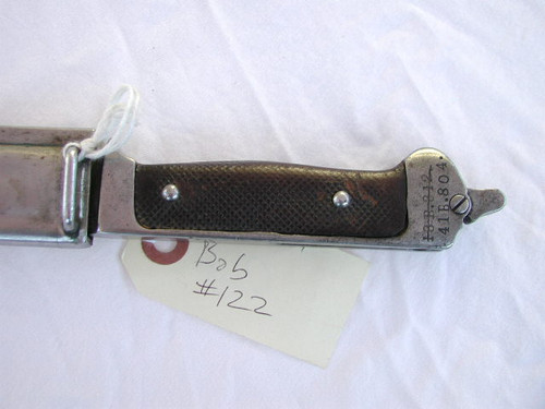 Danish MODEL 1889 KNIFE/BAYONET#674