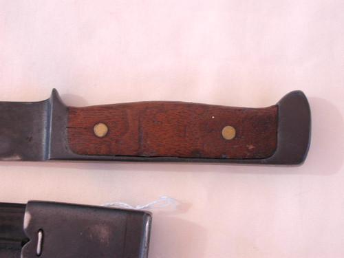 Danish MODEL 1923 FIGHTING KNIFE. No Maker Mark. #385