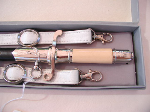 Polish post 1989 Pilots dagger in box with hangers  #422
