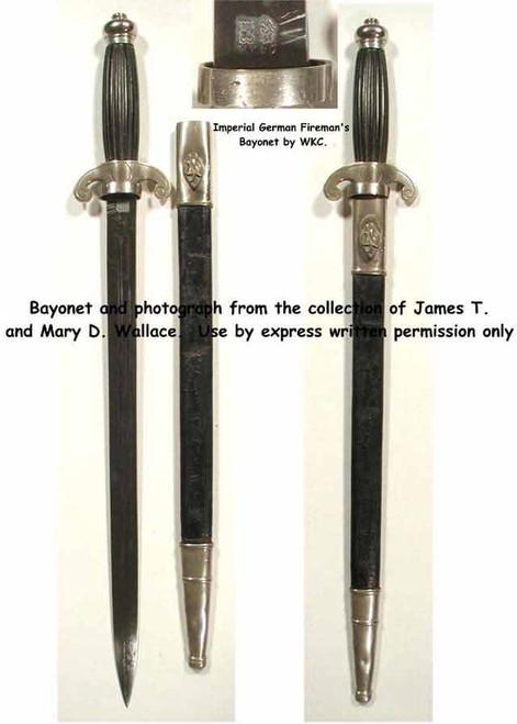 Imperial German Fire Bayonet#251
