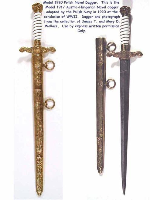 1920 Polish Naval Dagger#133