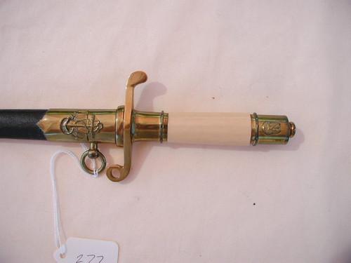 Polish model 1952. Naval dagger. Number 19207. Post 1989#498