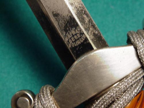 Rare Grabath Gebr. Army dagger#322