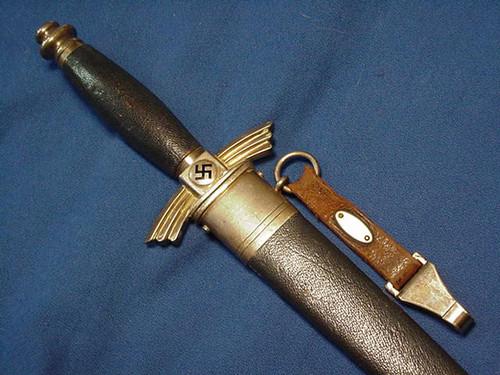 DLV Glider dagger - Carl Eickhorn oval mark#329