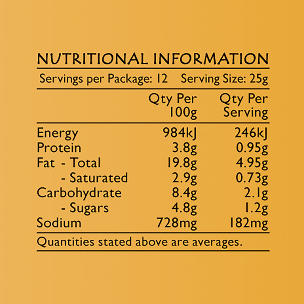 Life's Good Curry Pastes - Nutritional Information - Laksa Paste