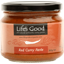 Life's Good Curry Pastes - Product Jar - Red Curry Paste