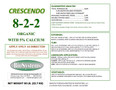 Crescendo 8-1-1 organic fertilizer