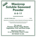 Maxicrop Soluble Seaweed Powder (1-0-17) 44 lb Makes 66 Gallons Concentrate