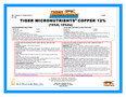 Copper Oxide 12% Tiger Micro-nutrient Granular 50 lb