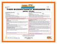 Manganese Oxide 15% Tiger Micronutrient Granular 50 lb