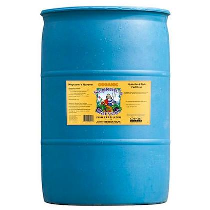 Neptune's Harvest Liquid Fish Fertilizer (2-4-0.5) 55 Gallon- Price $369.00, DROP SHIP