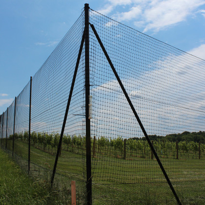 8' Corner System for steel posts DE2422-80