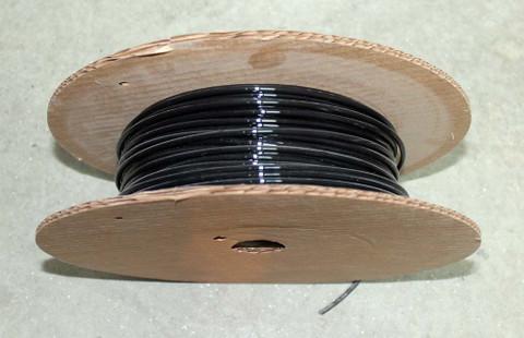 Mono-filament black wire 8 ga x 333 DE2820-0333