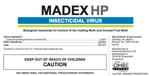 Madex HP Insecticidal Virus 6 oz
