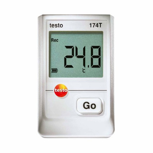 Testo 174T temperature data logger.