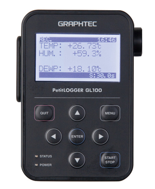 Graphtec GL100-N data logger.