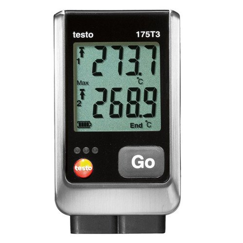 Testo 175 T3 Dual Channel temperature data logger.