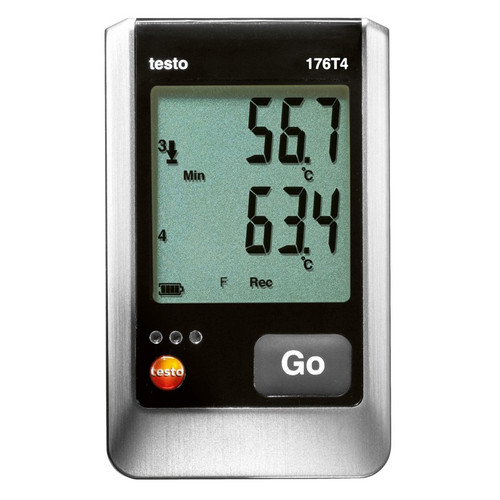 Testo 176 T4 Four Channel temperature data logger.