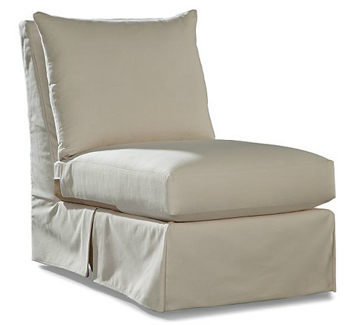 Lane Venture Clare Collection Upholstered Armless Chair