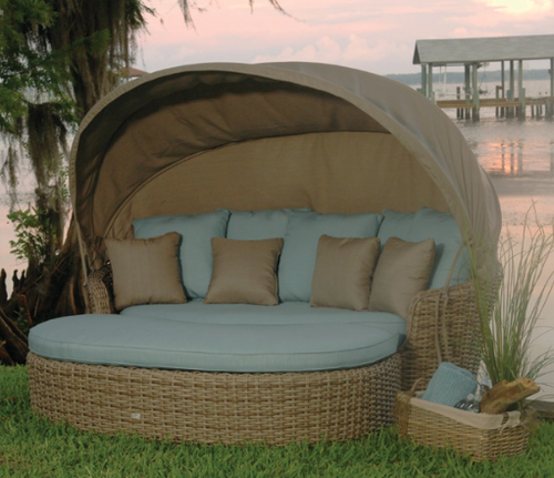 Ebel Dreux Collection Daybed With Ottoman