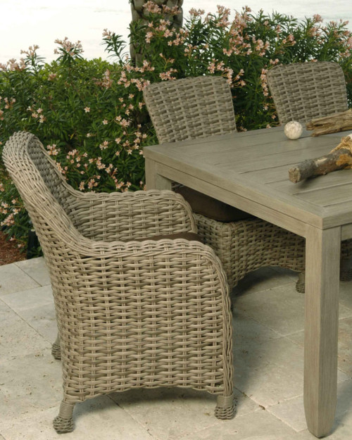 Ebel Dreux Collection 7 Piece Dining Set In Driftwood
