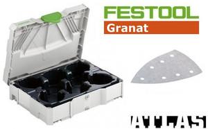 DTS400 Granat Sanding Paper Set