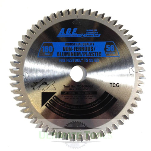 TS 55 Track Saw Amana Blade for Plastic/Aluminum and Steel