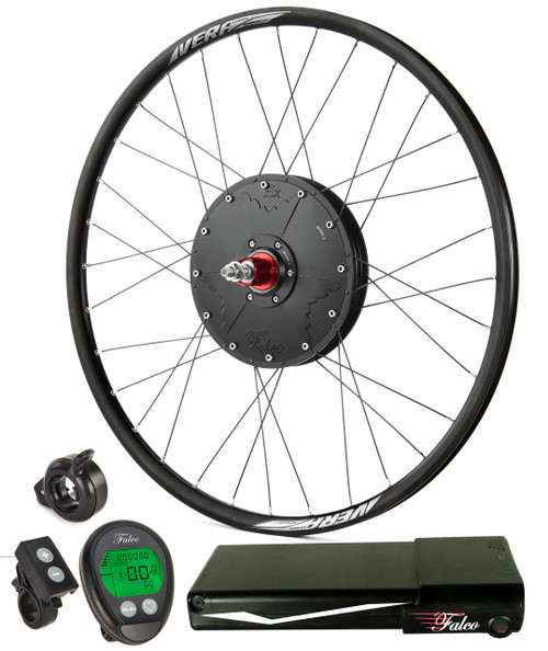 e5.11 System as Shipped from Virginia. It includes the electric wheel, battery console, plus minus controls and a throttle of your choice.