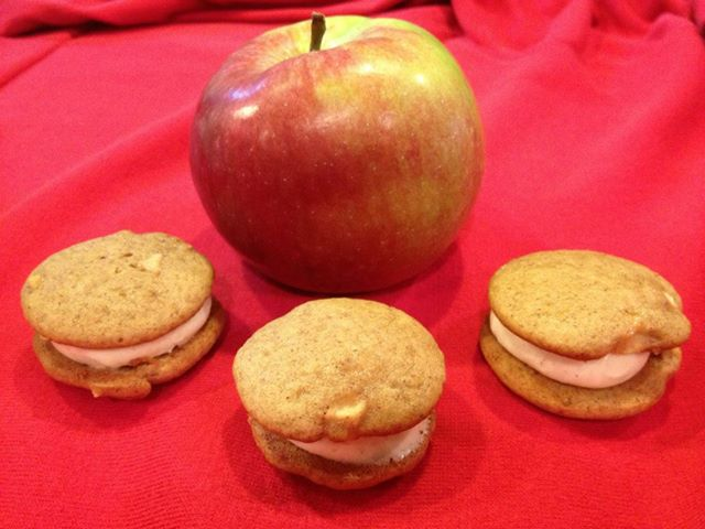 6 Pack- Large Apple Cinnamon Whoopie Pies