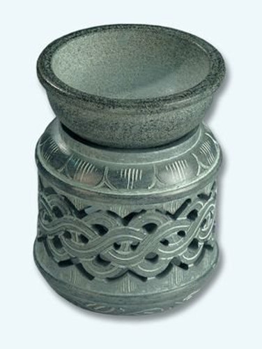 Soapstone Candle Diffuser - Celtic Knot