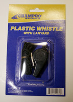 Plastic Whistle with Lanyard