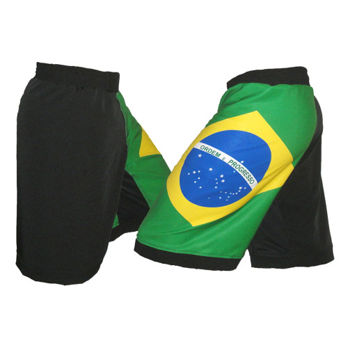 Brazil Flag MMA Fight Shorts