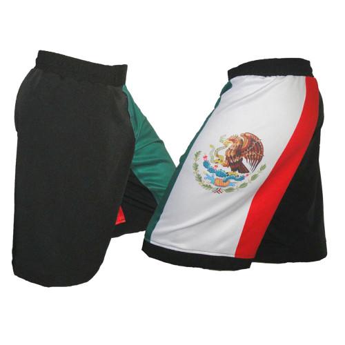 Mexico Flag MMA Fight Shorts