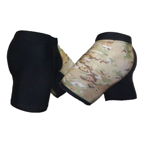 Black & MultiCam Tudo MMA Fight Shorts