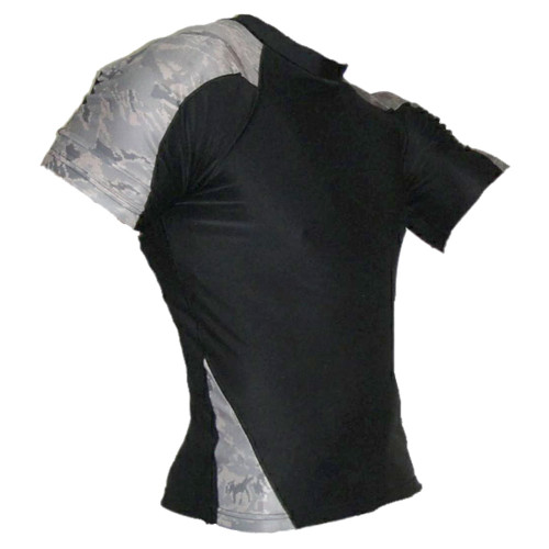Air Force Camo Rash Guard MMA Shirt