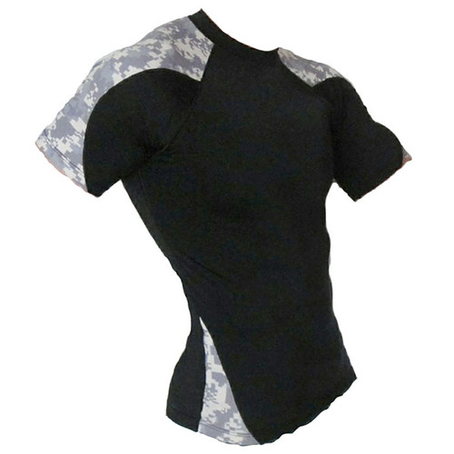 Army Camouflage Rash Guard MMA Shirt