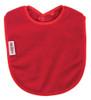 Red Fleece Large Bib
