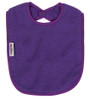 Purple Fleece Large Bib