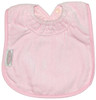 Pale Pink Towel Large Bib
