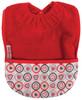 Red Heart Towel Pocket Bib