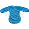 Aqua Fleece Messy Eater Bib