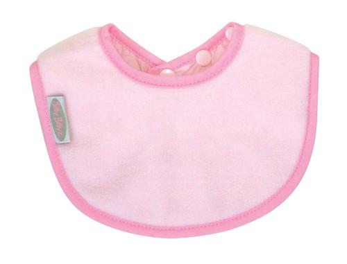 Pale Pink Fleece Biblet