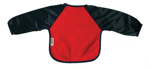 Red/Navy Fleece Long Sleeve Bib