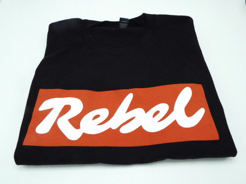 Iconic Rebel Logo T-shirt (Black)