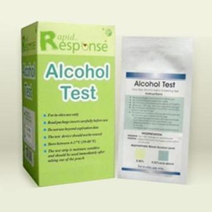 Saliva Alcohol Test (Box of 25)