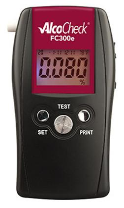 AlcoCheck FC300e Evidential Breath Alcohol Fuel Cell Tester