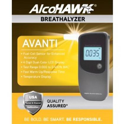 AlcoHawk Avanti Alcohol Breathalyzer