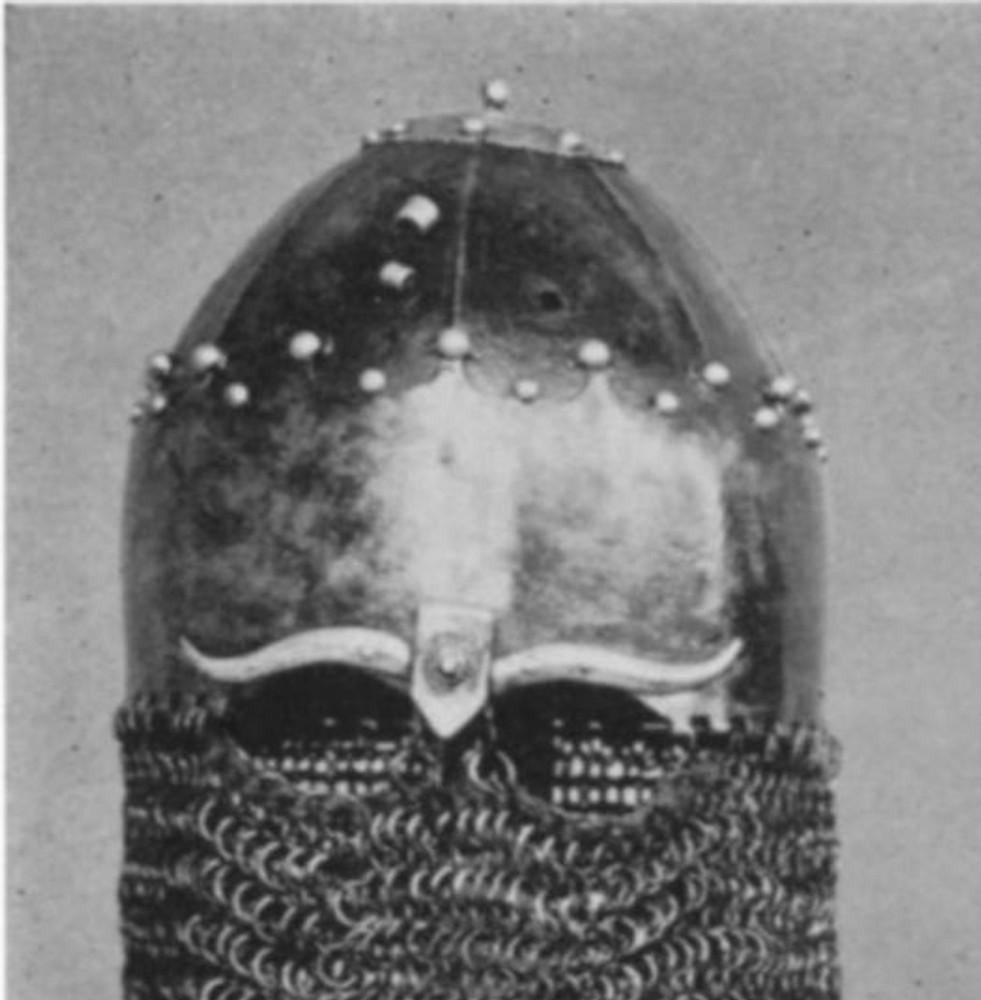 Turban helmet of 14th century